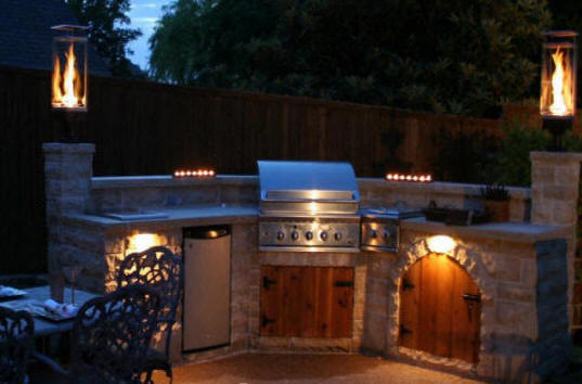 Columbia sc outdoor kitchen fireplaces columbia outdoor for Cost of outdoor living space